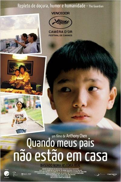 """Poster do filme """"Quando Meus Pais Não Estão em Casa"""
