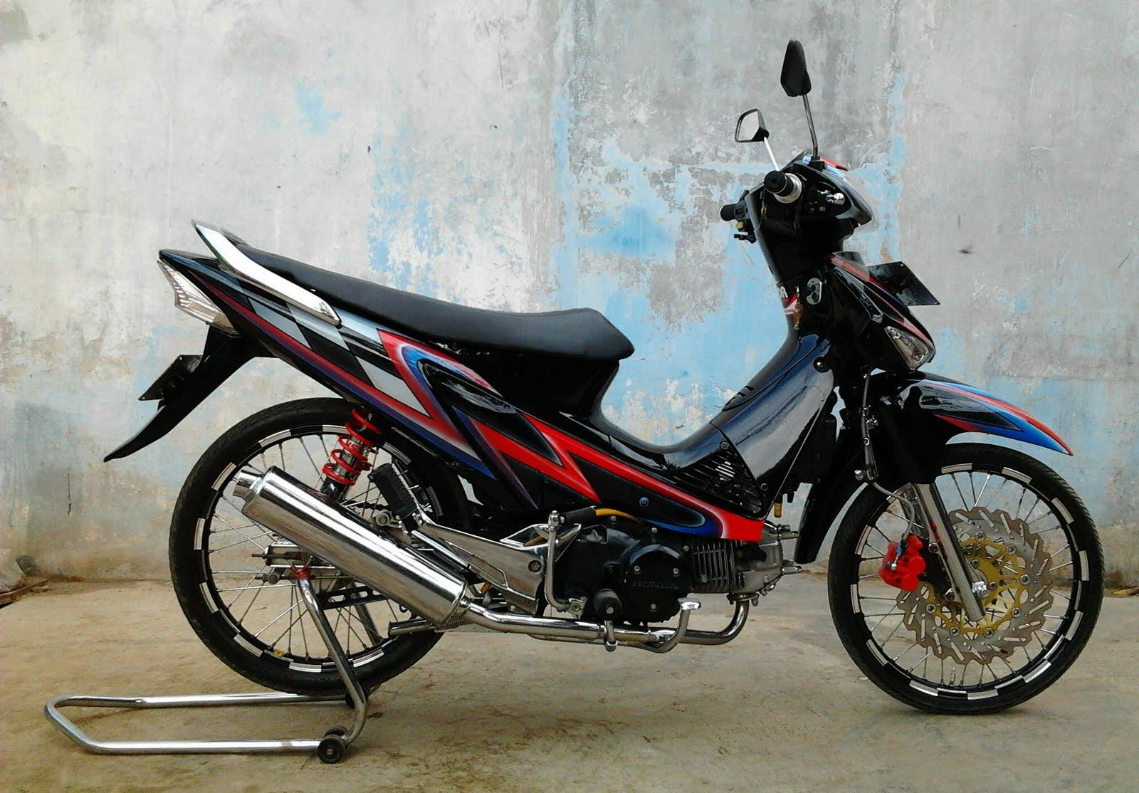 Bagus priyatnanto: Modifikasi Honda Supra X 125