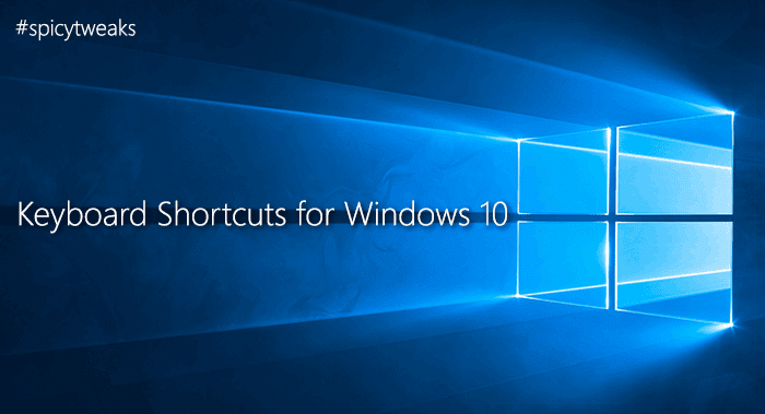 Full List of Keyboard Shortcuts for Windows 10