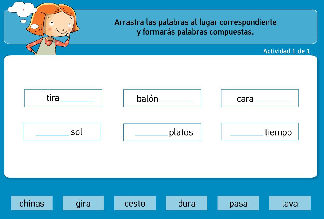 http://www.primerodecarlos.com/TERCERO_PRIMARIA/archivos/actividades_tilde_tercero/8/palabras_compuestas.swf