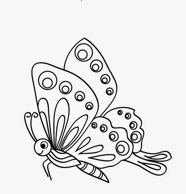 Butterflies for Coloring, part 4