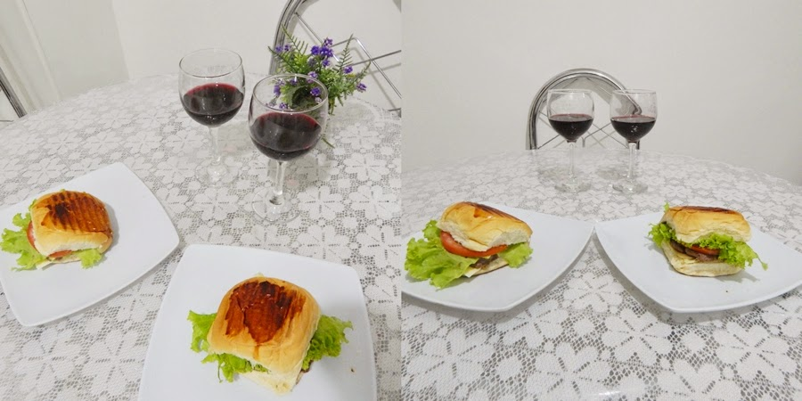 receita hambúrguer gourmet