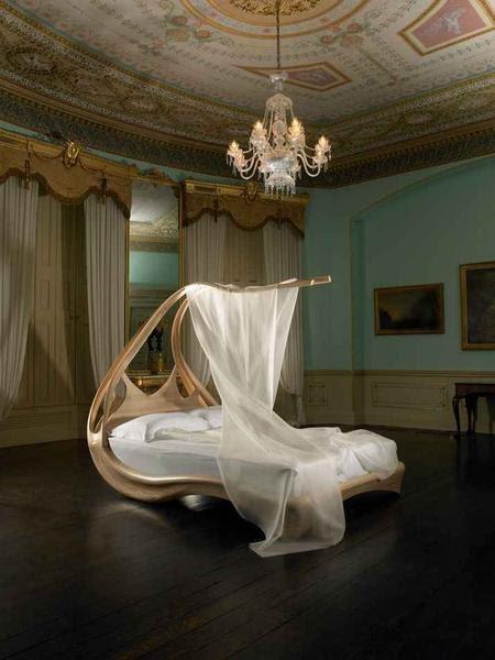 loveisspeed enignum canopy bed by designer joseph