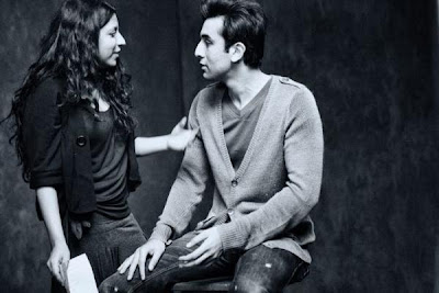 Photos: Zoya Akhtar and Ranbir  from the Breast Cancer Awareness campaign