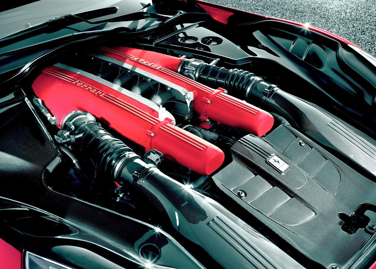 2016 Ferrari F12 Berlinetta Engine