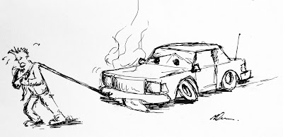 Jak transportować samochód, czyli sposoby holowania i przewozu.