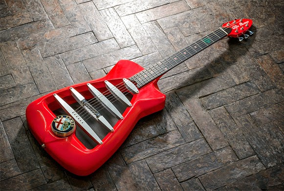 Guitarra de Alfa Romeo – Bem Legaus