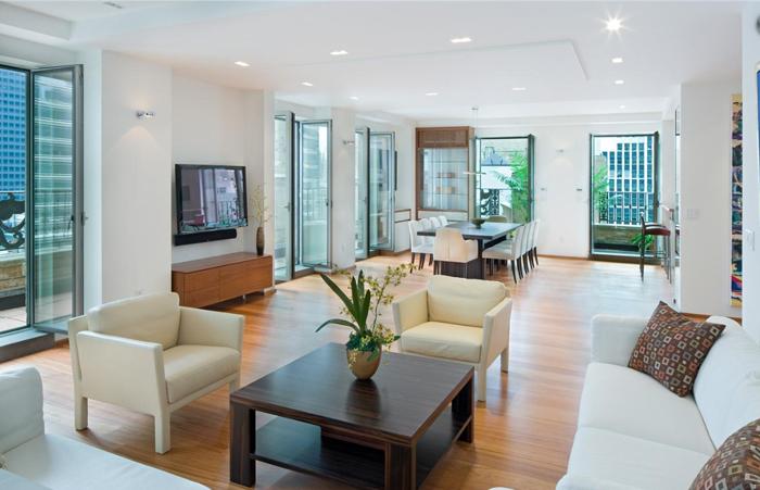 Dom nguez arquitectos interiores minimalistas for Apartamentos minimalistas