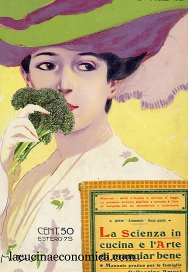 pellegrino artusi, broccoli e cavoli