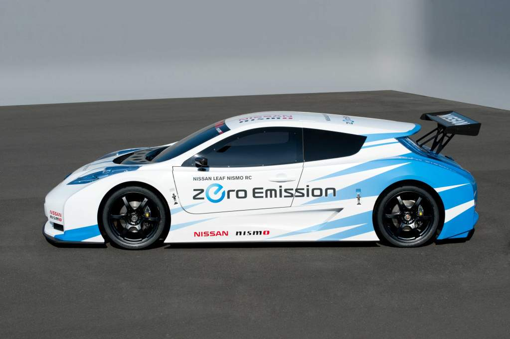 Nissan S New Leaf Is An All Out Race Car The World S Most