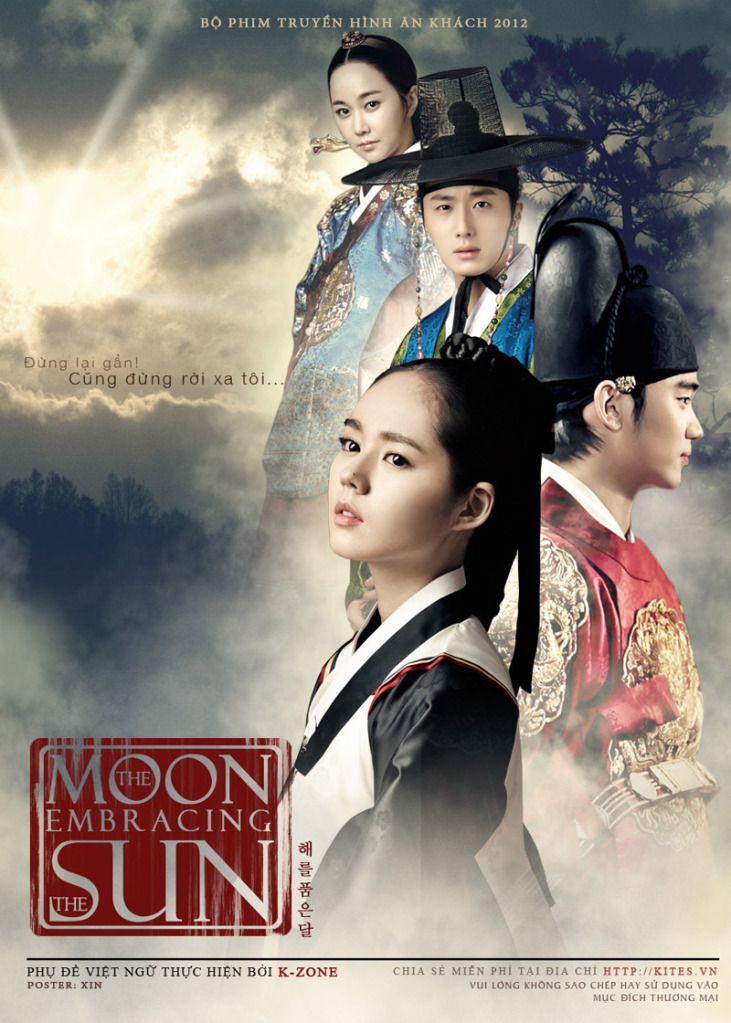 The Moon Embracing The Sun -