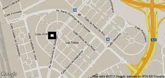 Mapa de situación del centro de salud de Las Tablas