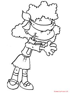 Desenhos Para Colori Crianças e jovens brincando desenhar
