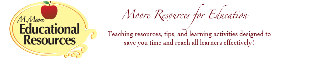 M Moore Educational Resources