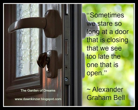 Quotes About Doors Entrancing The Garden Of Dreams Meme  Inspirational Quote On Open Doors