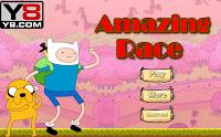 لعبة سباق مذهلة وقت المغامرة