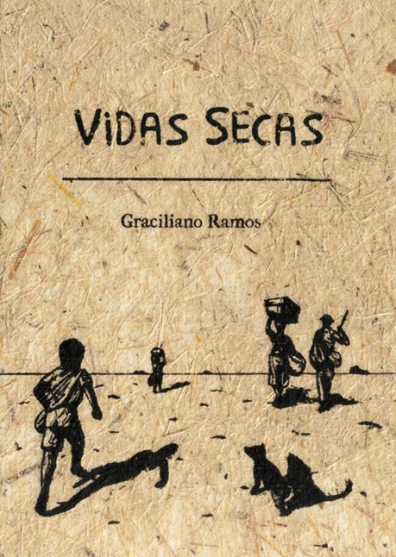 Capa da obra Vidas secas, de Graciliano Ramos