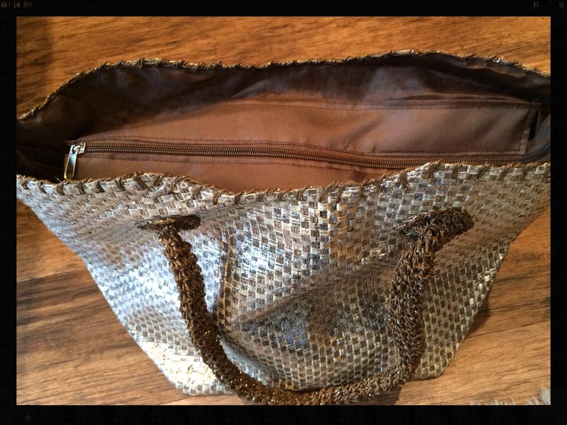 Damart Metallic Basket, My Midlife Fashion