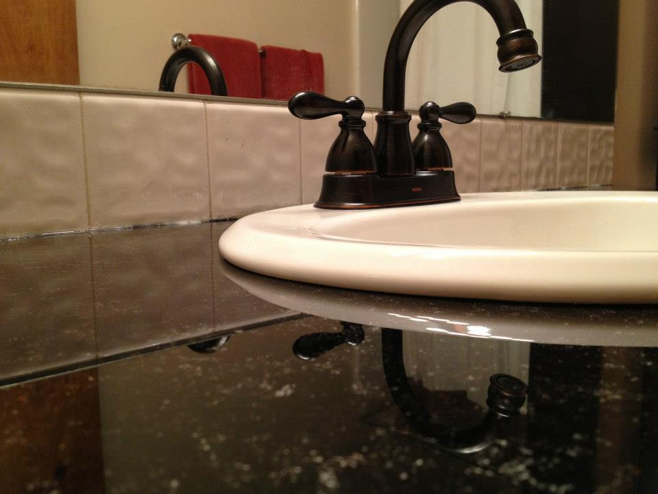 Cheap bathroom countertops