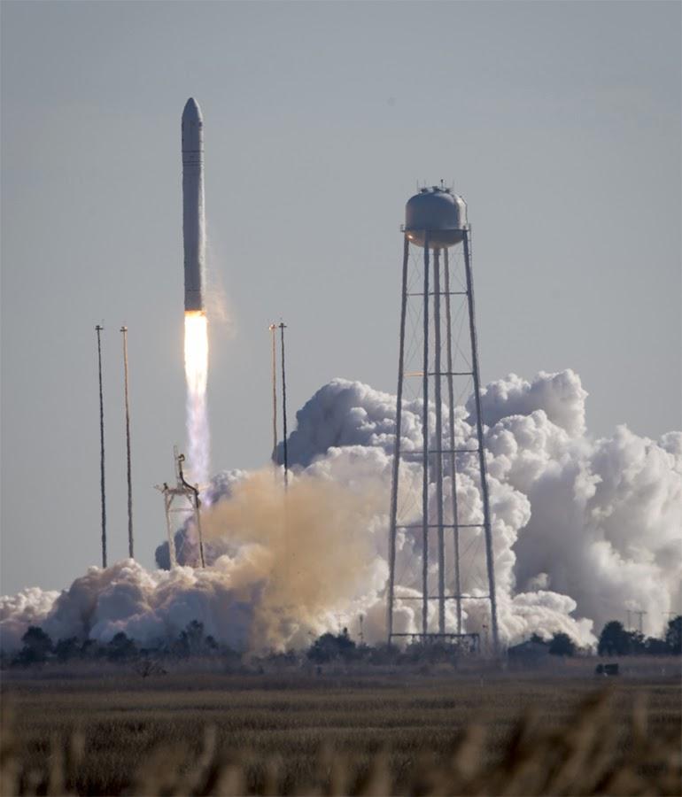 Частный американский грузовой корабль Cygnus стартовал к МКС