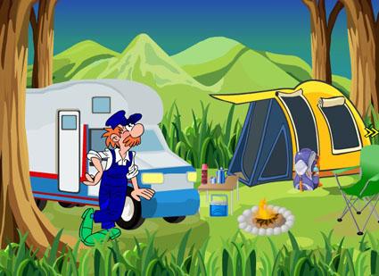 Adventure Camp Escape
