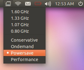 CPU Frequency Ubuntu 11.10