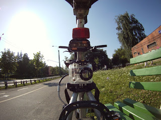 GoPro on Seat Stay