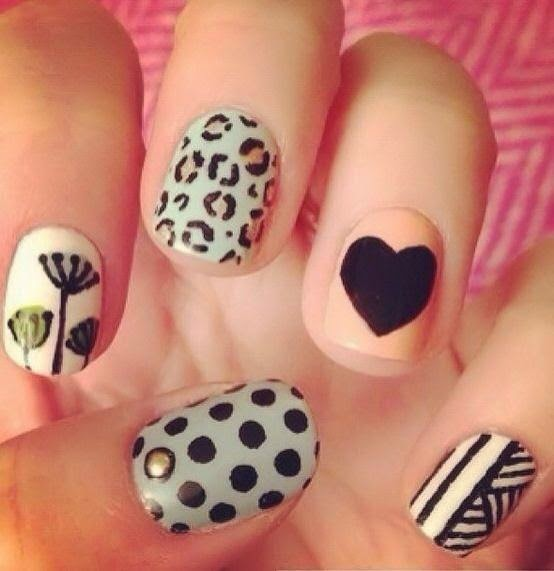 Mix & Match Nails