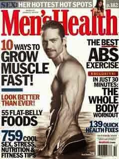 Majalah mens health, Majalah dewasa