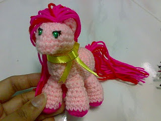 My Little Pony Crochet Amigurumi Pattern by kaerfel on