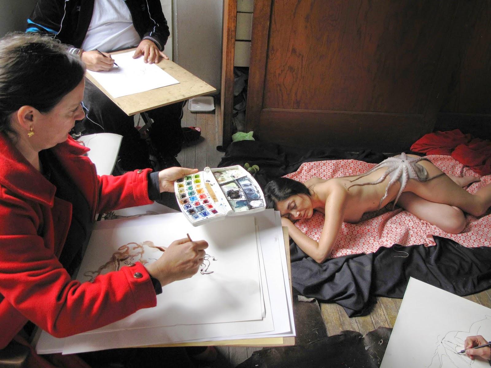 El dibujo como medio y obra en el Ex Teresa Arte Actual