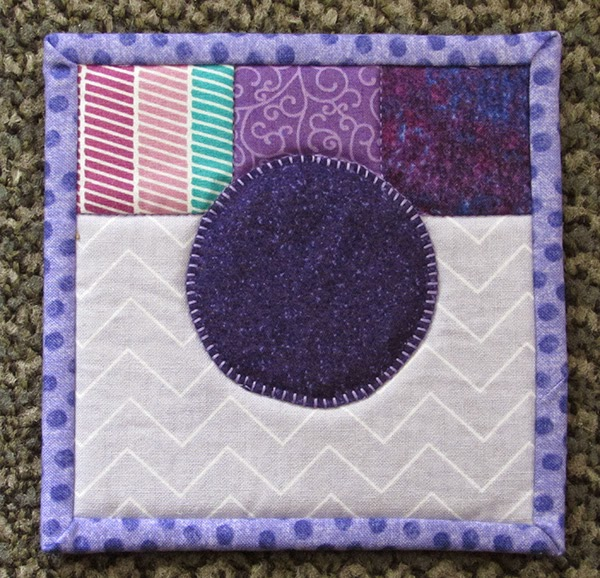 Instagram quilted mug mat tutorial