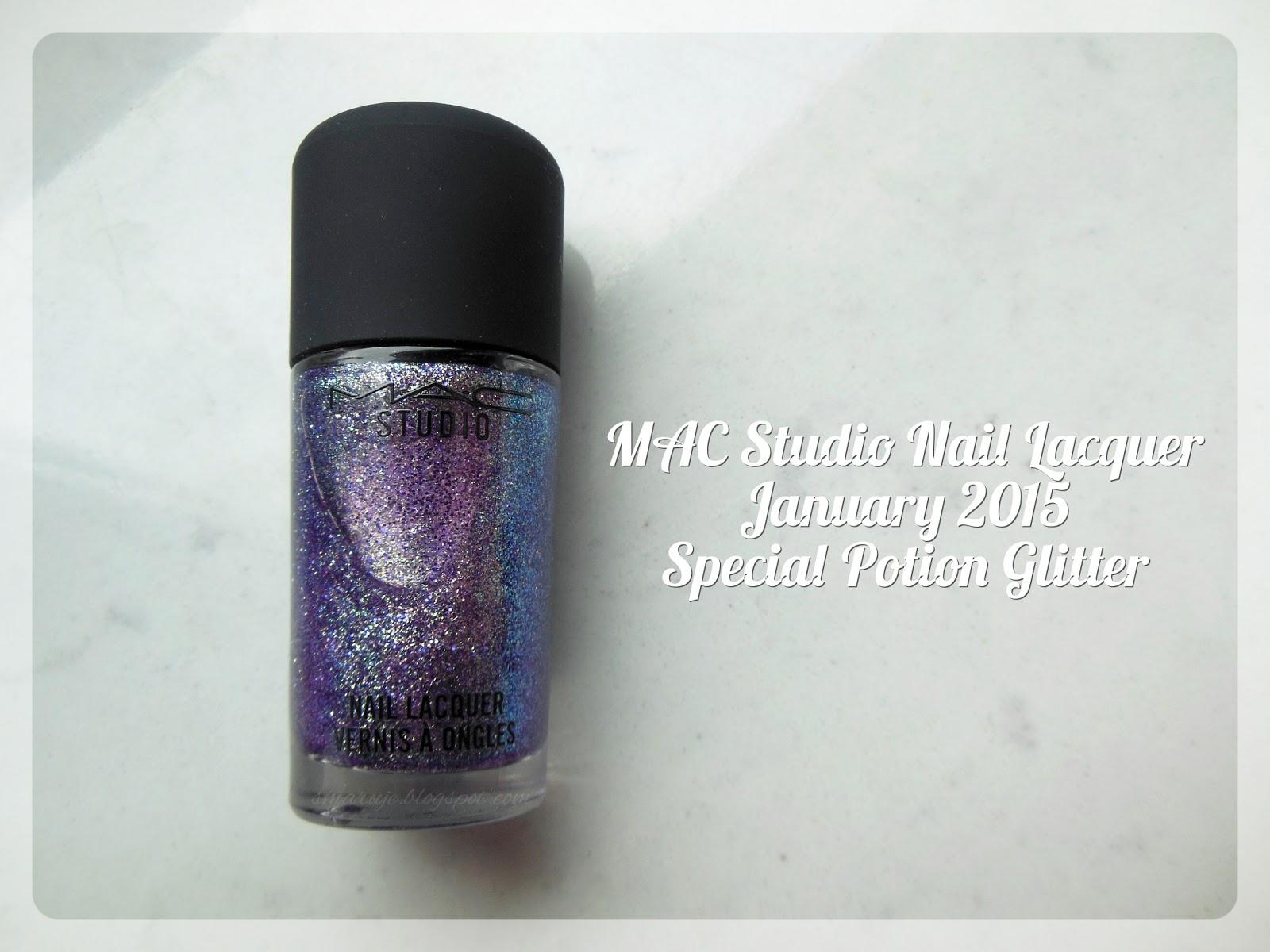 NowośćM•A•C: Studio Nail Lacquer w karnawałowym odcieniu Special Potion