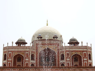 Fountain View of Char Bagh at Humayun's Tomb