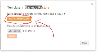 backup template blogspot
