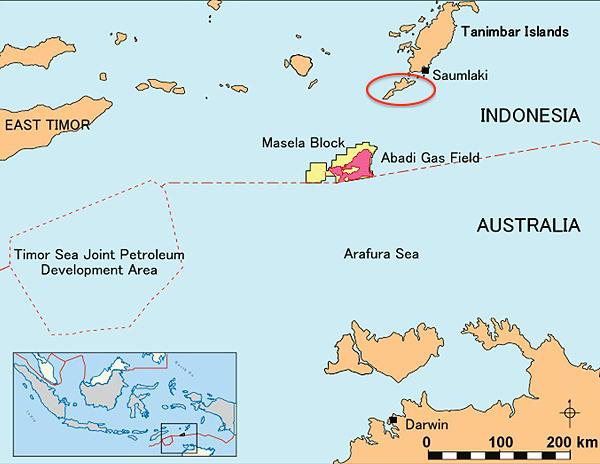 Kawasan Blok Masela Rawan Dicaplok Australia