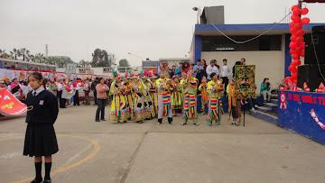 """COLEGIO """"ANDRES BELLO"""", INVITADO DE HONOR. Gracias, con su visita dieron realce a nuestra actividad"""