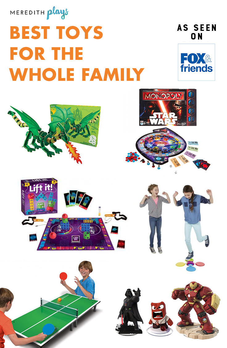 Best Games Toys : Meredith plays the best toys and games for whole family