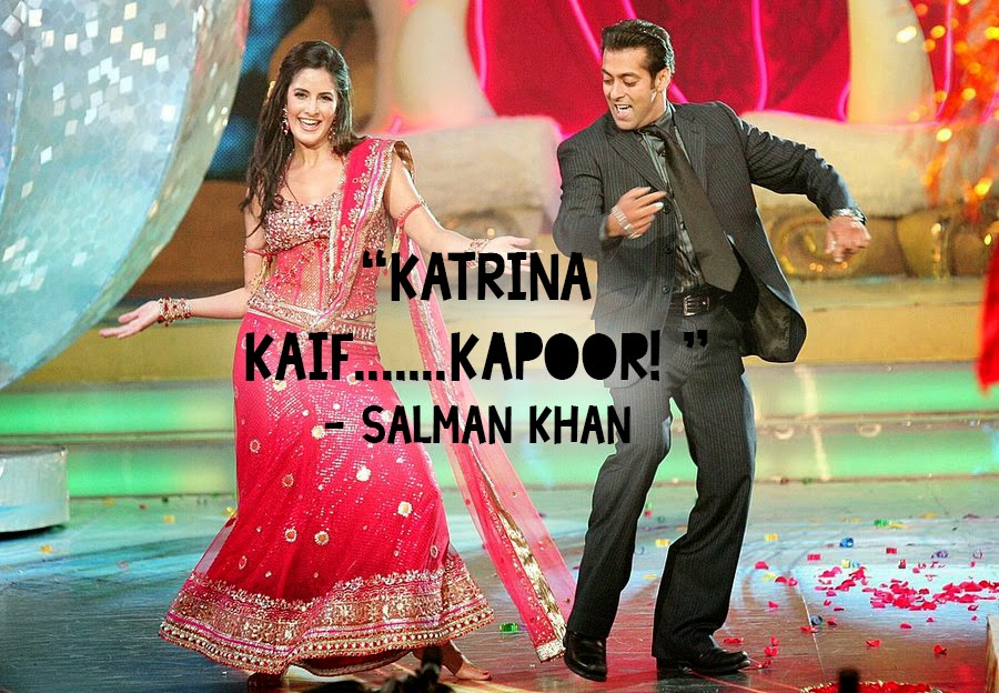 Now That It S Being Reported Salman Khan Asked The Dj To Play Chikni Chameli Get Katrina On Stage He Also Requested Karan Johar Her