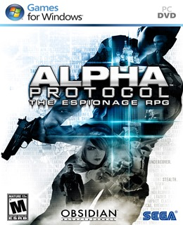 Alpha Protocol PC Box