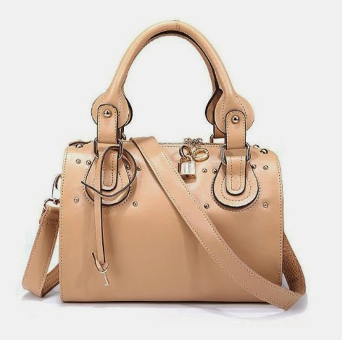":""DARLING"" Tan Genuine Leather"
