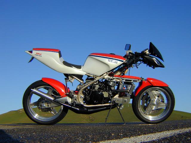 Julian Farnam FFE 350 Forkless Yamaha RZ Motorcycle