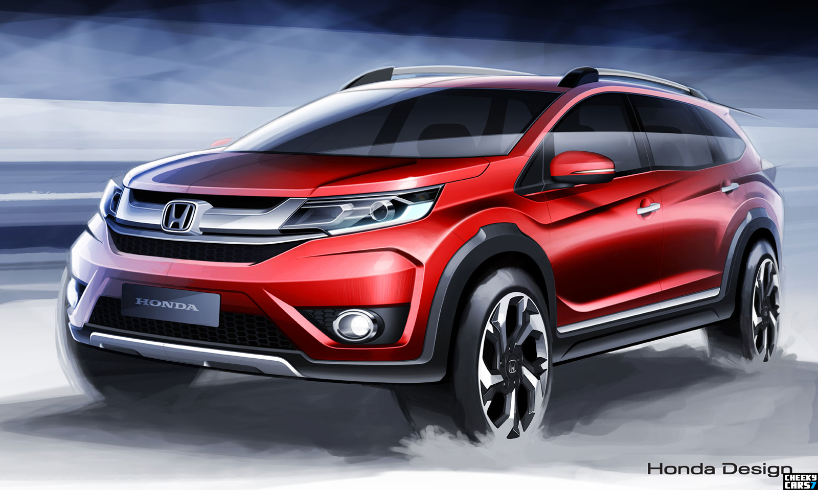honda brv 2015 video and images new crossover suv br v concept cars 2016 pictures car videos. Black Bedroom Furniture Sets. Home Design Ideas