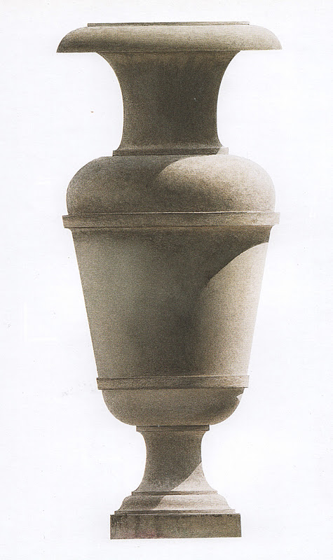 decorative urns in drawings and paintings - Decorative Urns