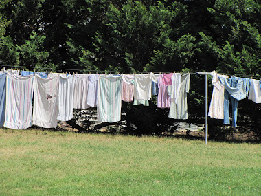 Wash Day in the Country