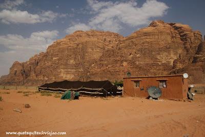 Wadi Rum - Viaje a Jordania