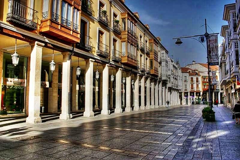 Resultado de imagen de calle mayor palencia