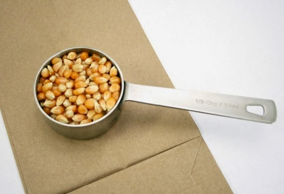 Easy Brown Bag Microwave Popcorn Trick