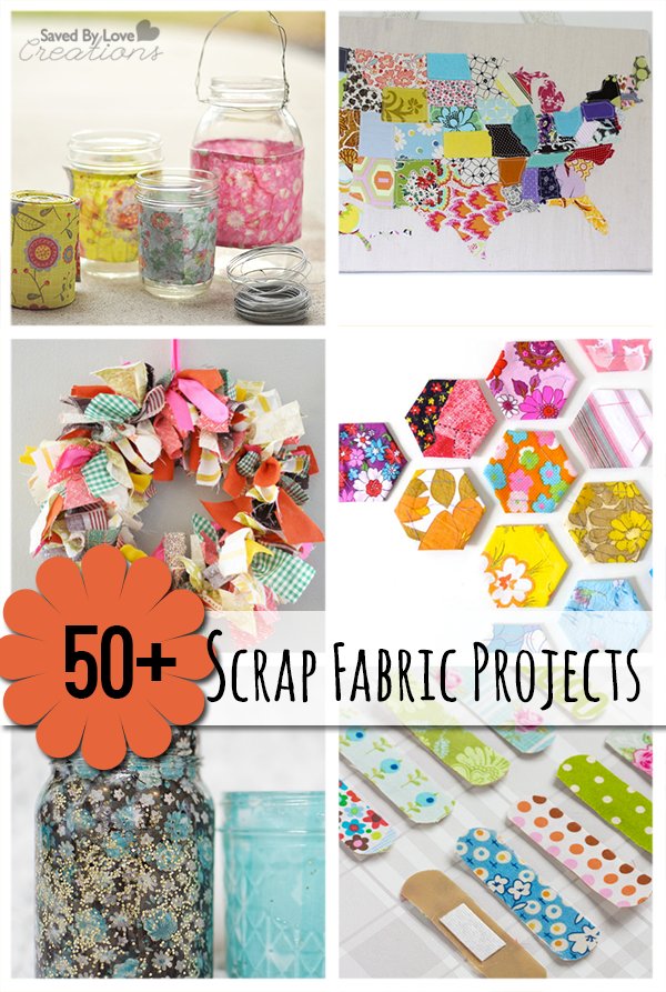 The 50 Plus Best Scrap Fabric Project