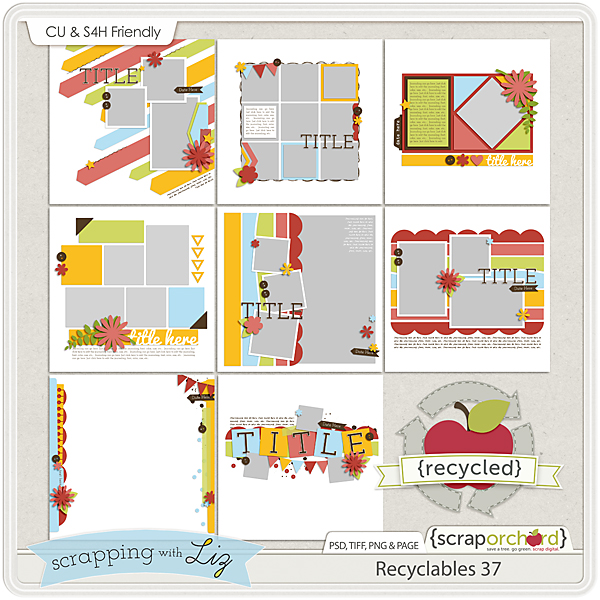 http://scraporchard.com/market/Recyclables-37-Digital-Scrapbook-Templates.html